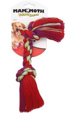 Mammoth Pet Products Mammoth Cotton Flossy Chews 2 Knot Rope Bone