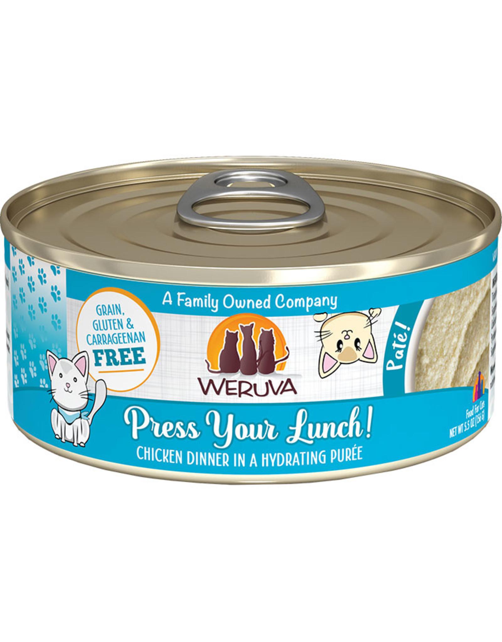 Weruva Weruva Press Your Lunch Chicken Dinner Pate Cat Food 5.5oz