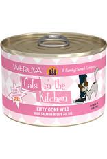 Weruva Weruva Cats in the Kitchen Kitty Gone Wild Salmon Recipe in Au Jus 6oz