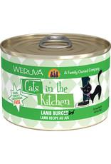 Weruva Weruva Cats in the Kitchen Lamb Burger-ini Lamb Recipe Au Jus Cat Food 6oz