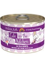 Weruva Weruva Cats in the Kitchen La Isla Bonita Mackerel & Shrimp Recipe Au Jus Cat Food 6oz