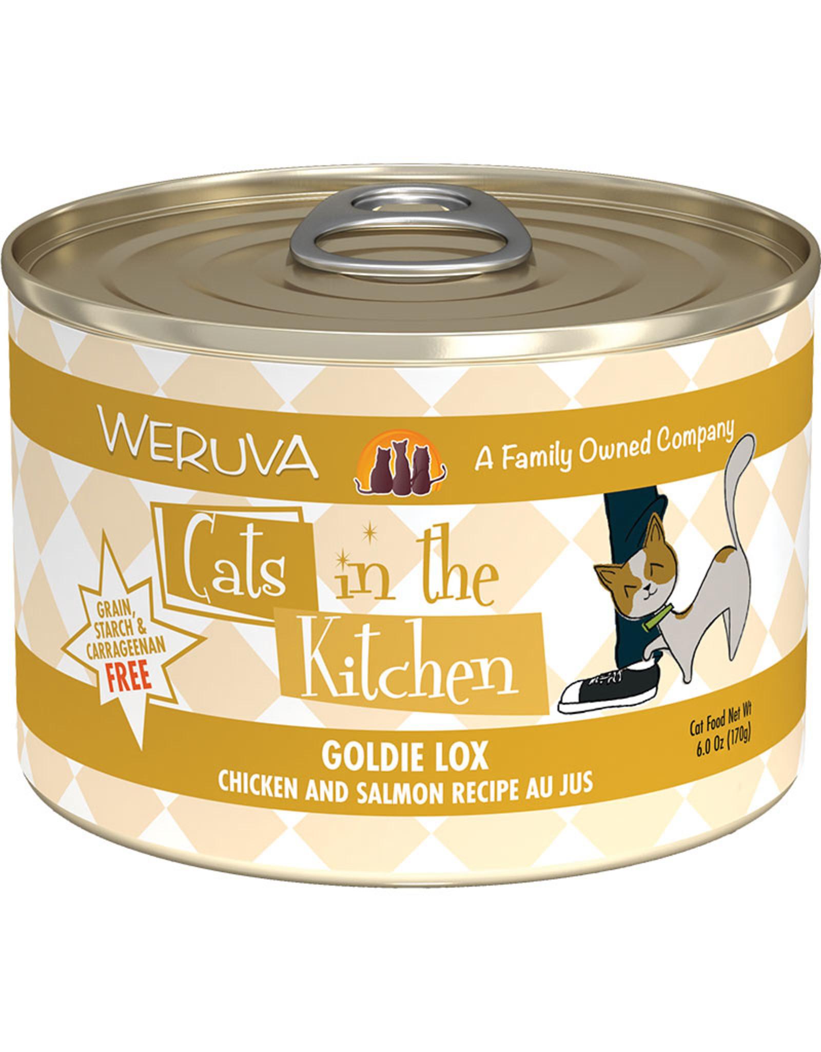 Weruva Weruva Cats in the Kitchen Goldie Lox Chicken & Salmon Recipe Au Jus Cat Food 6oz
