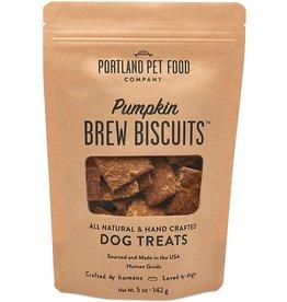 Portland Pet Food Portland Pet Food Pumpkin Brew Biscuits Dog Treat 5oz