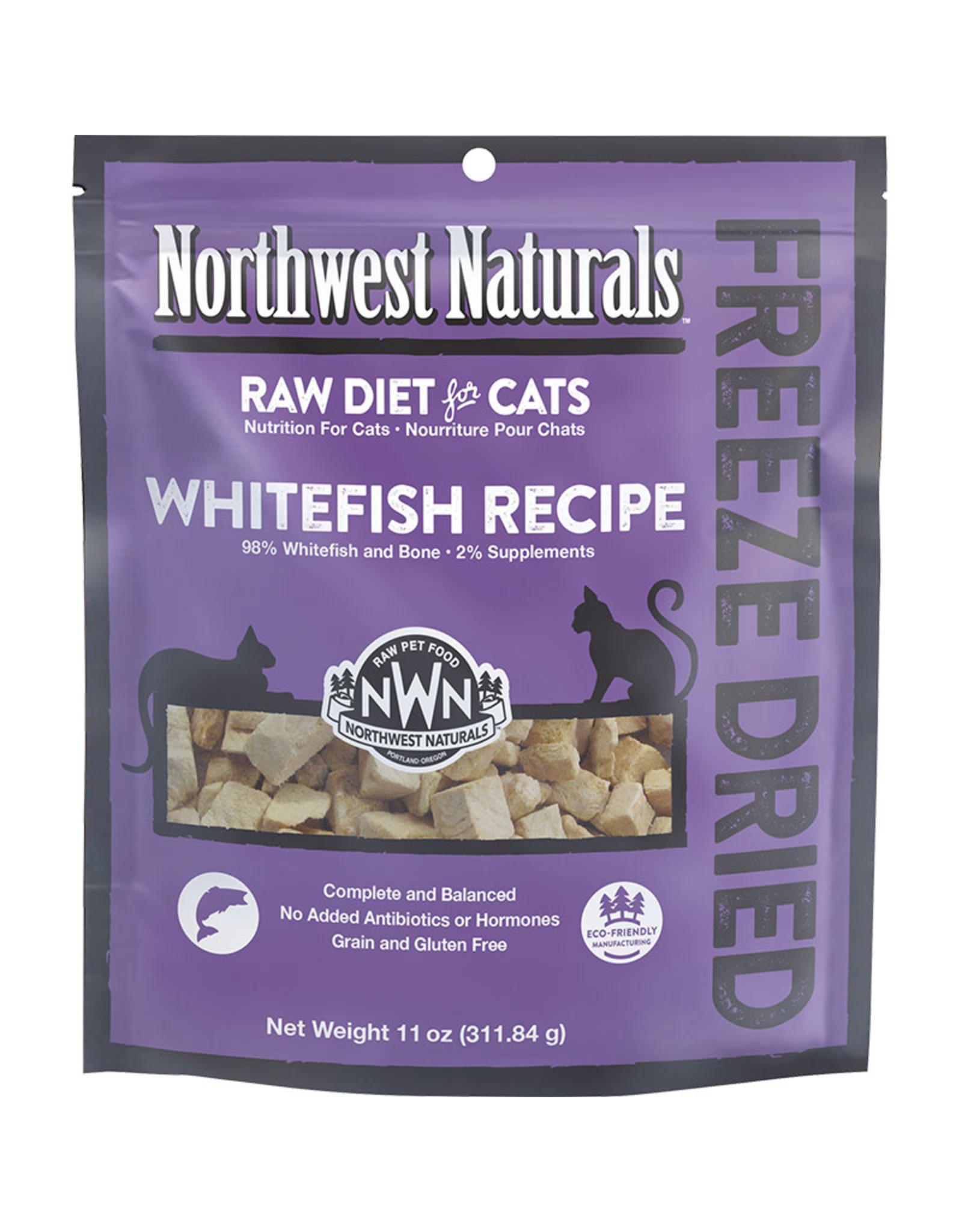 Northwest Naturals Northwest Naturals Raw Diet for Cats Freeze-Dried Whitefish Recipe