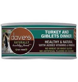 Dave's Pet Food Dave's Turkey & Giblets Dinner Cat Food 5.5oz