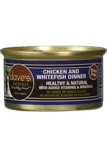 Dave's Pet Food Dave's Chicken & Whitefish Dinner Cat Food 3oz