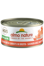 Almo Nature Almo Nature HQS Natural Salmon with Carrots in Broth Cat Food 2.47 Oz