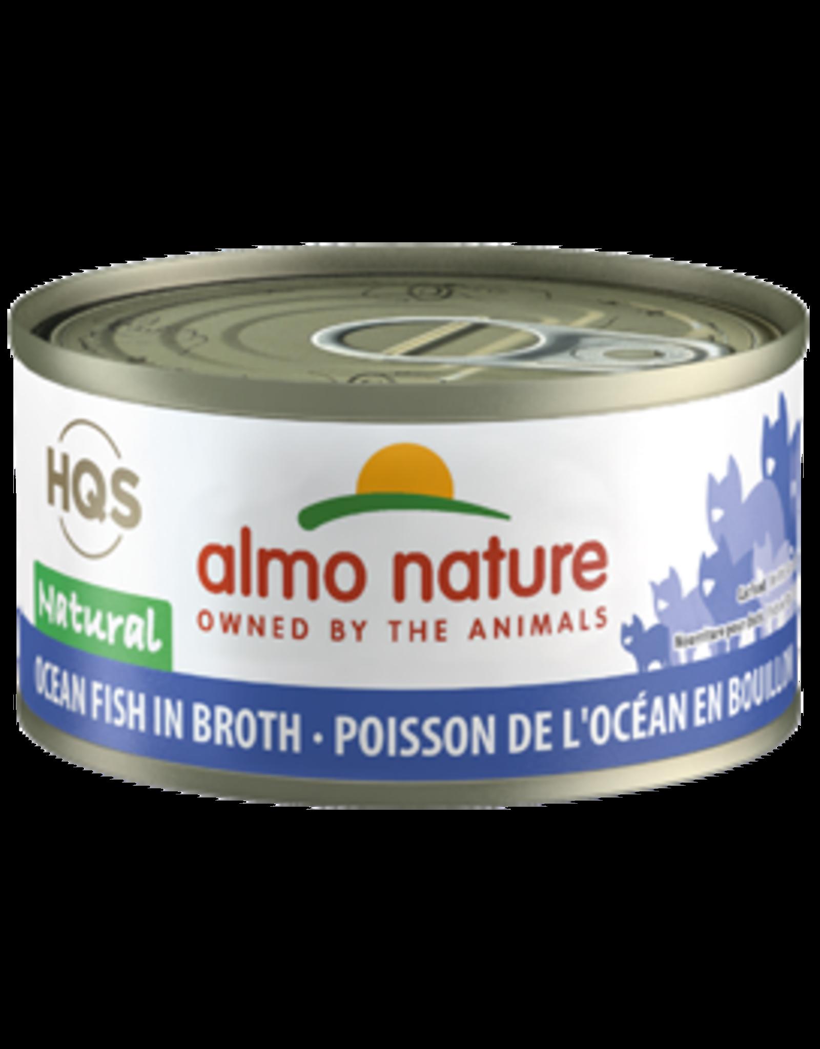 Almo Nature Almo Nature HQS Natural Ocean Fish in Broth Cat Food 2.47 Oz