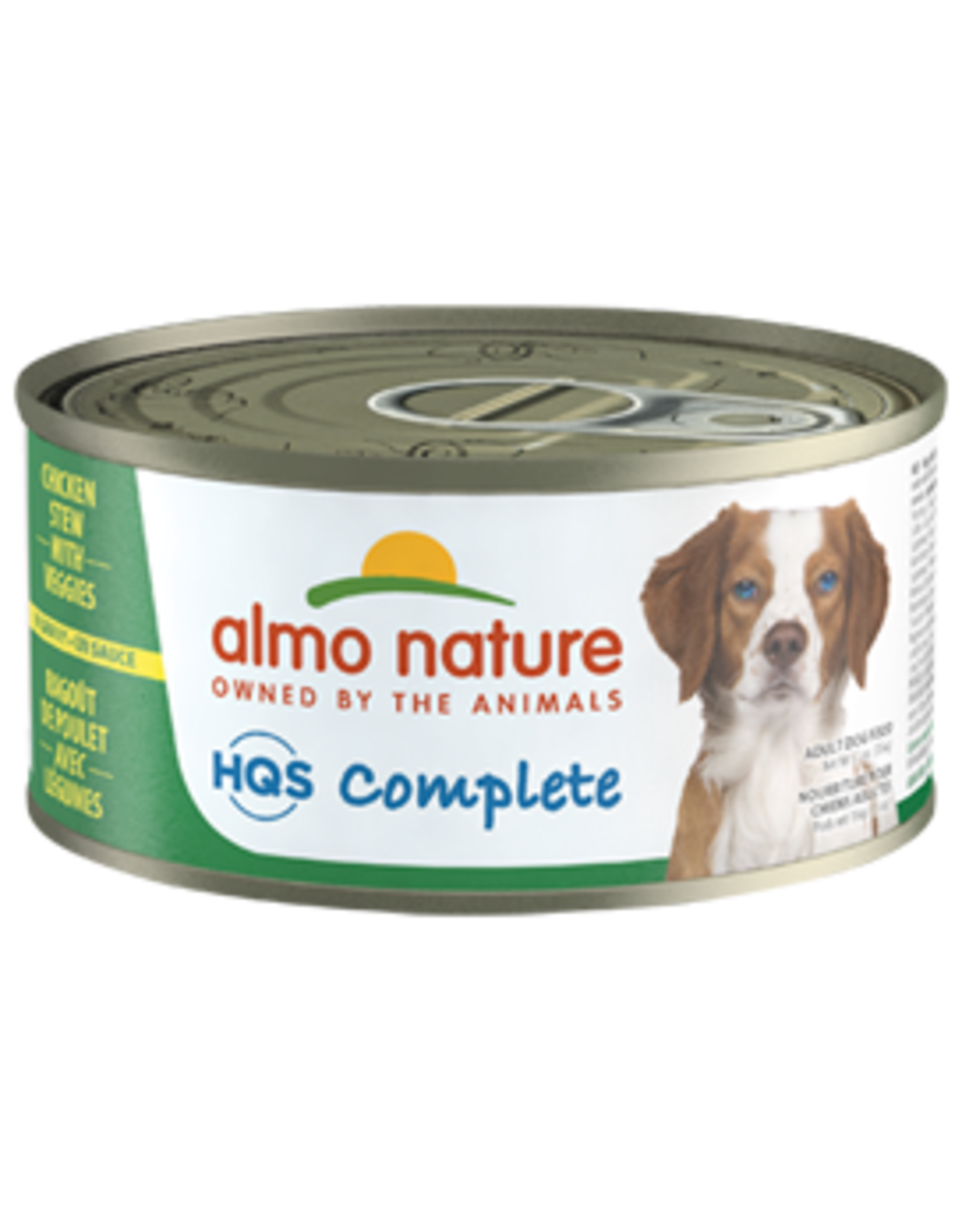 Almo Nature Almo Nature HQS Complete Chicken Stew w/Veggies Dog Food 5.5oz