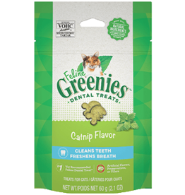 Feline Greenies Feline Greenies Dental Treats Catnip Flavor 2.1oz