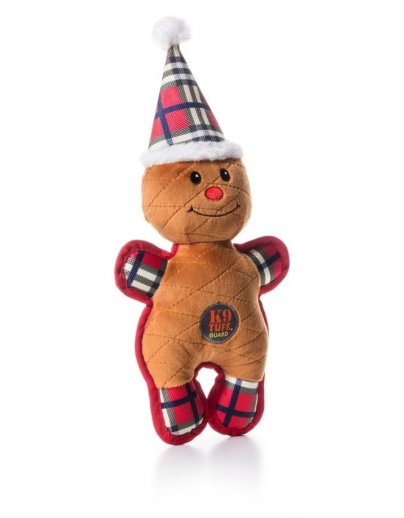 Outward Hound Charming Pet Christmas Tuffins Gingerbread Dog Toy