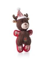 Outward Hound Charming Pet Christmas Tuffins Reindeer Dog Toy