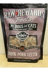 Northwest Naturals Northwest Naturals Raw Rewards Freeze Dried Pork Liver Treats for Dogs & Cats 10oz