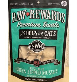 Northwest Naturals Northwest Naturals Raw Rewards Freeze Dried Green Lipped Mussels Treats for Dogs & Cats 2oz