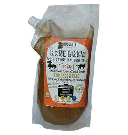 Nuggets Healthy Eats Nuggets Healthy Eats Bone Brew Turkey Bone Broth for Dogs & Cats 20oz