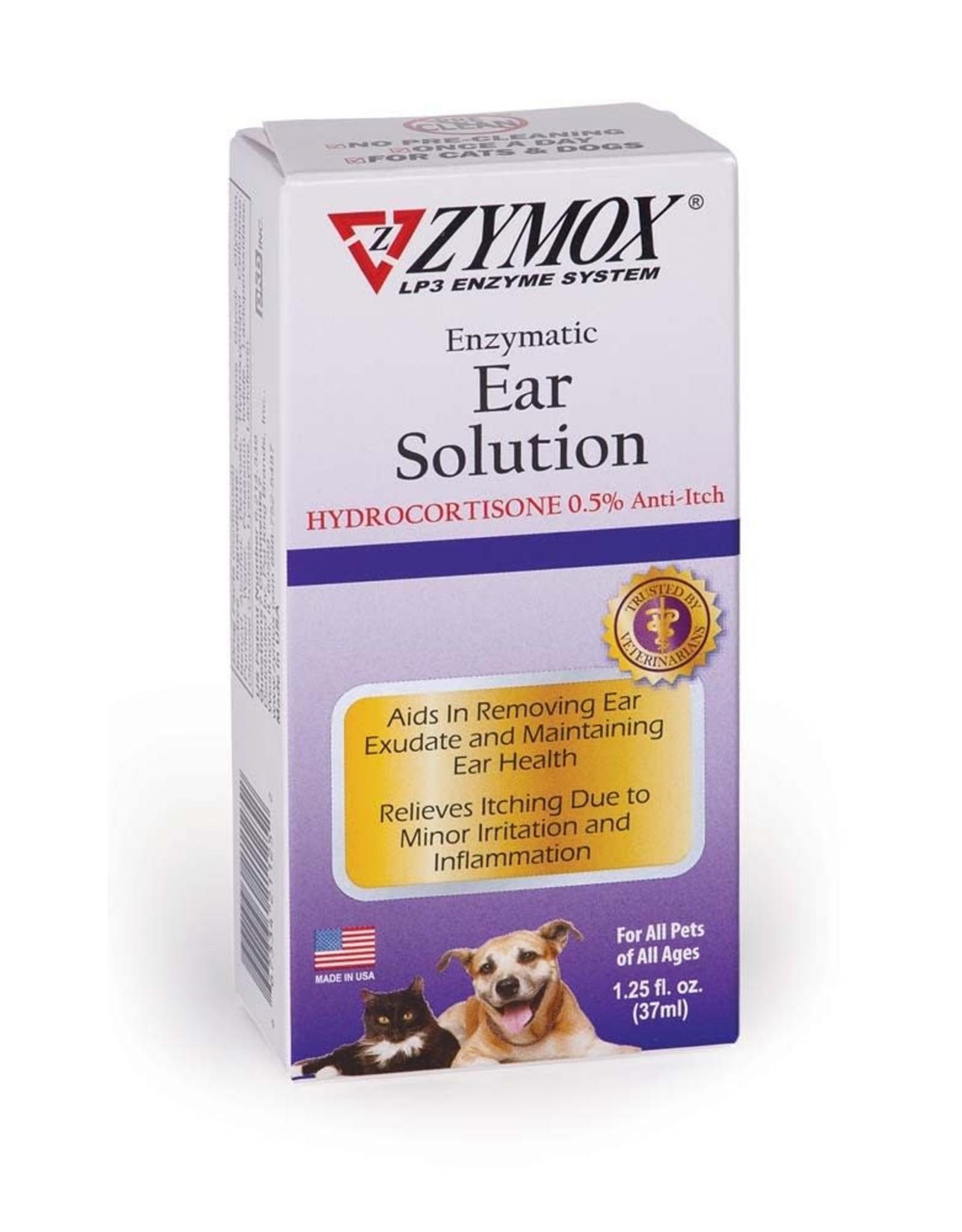 Zymox Zymox Ear Solution w/.5%  Hydrocortisone 1.25oz