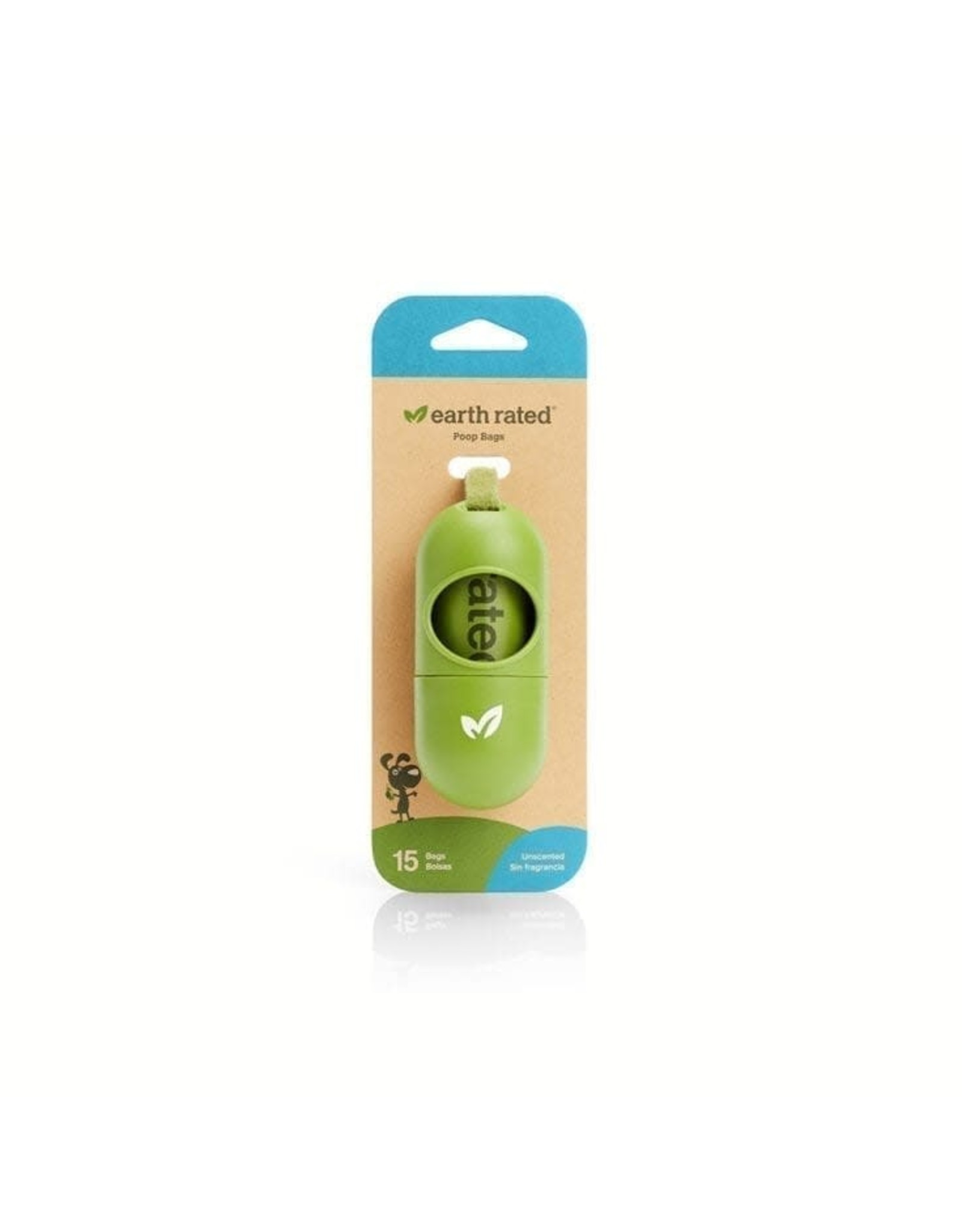 Earth Rated Earth Rated Green Dispenser W/ Unscented Waste Bags