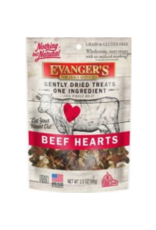 Evangers Evanger's Gently Dried Beef Heart Treats for Cats & Dogs 3.5oz
