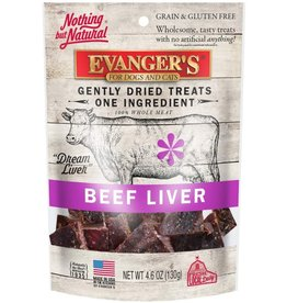 Evangers Evanger's Gently Dried Beef Liver Treat for Cats & Dogs 4.6oz