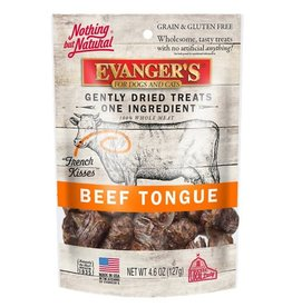 Evangers Evanger's Gently Dried Beef Tongue Treats for Cats & Dogs 4.6oz