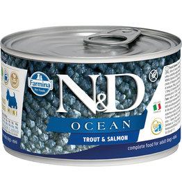 Farmina N&D Farmina N&D Ocean  Trout & Salmon Wet Dog Food 4.9oz