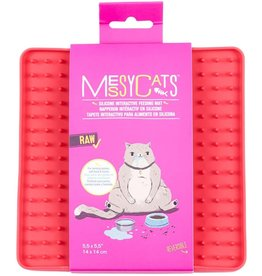 Messy Mutts Messy Cats Silicone Reversible Interactive Feeding Mat