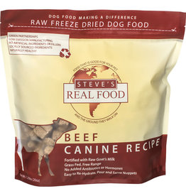 Steve's Real Food Steve's Real Food Freeze-Dried Nuggets Beef Recipe for Cats & Dogs 1.25lb
