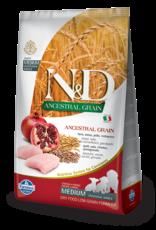 Farmina N&D Farmina N&D Ancestral Grain Chicken & Pomegranate Puppy Med/Maxi Dog Food 5.5lb