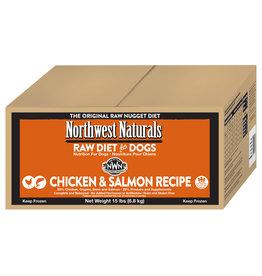 Northwest Naturals Northwest Naturals Raw Diet for Dogs Chicken & Salmon Recipe Nuggets 15lb
