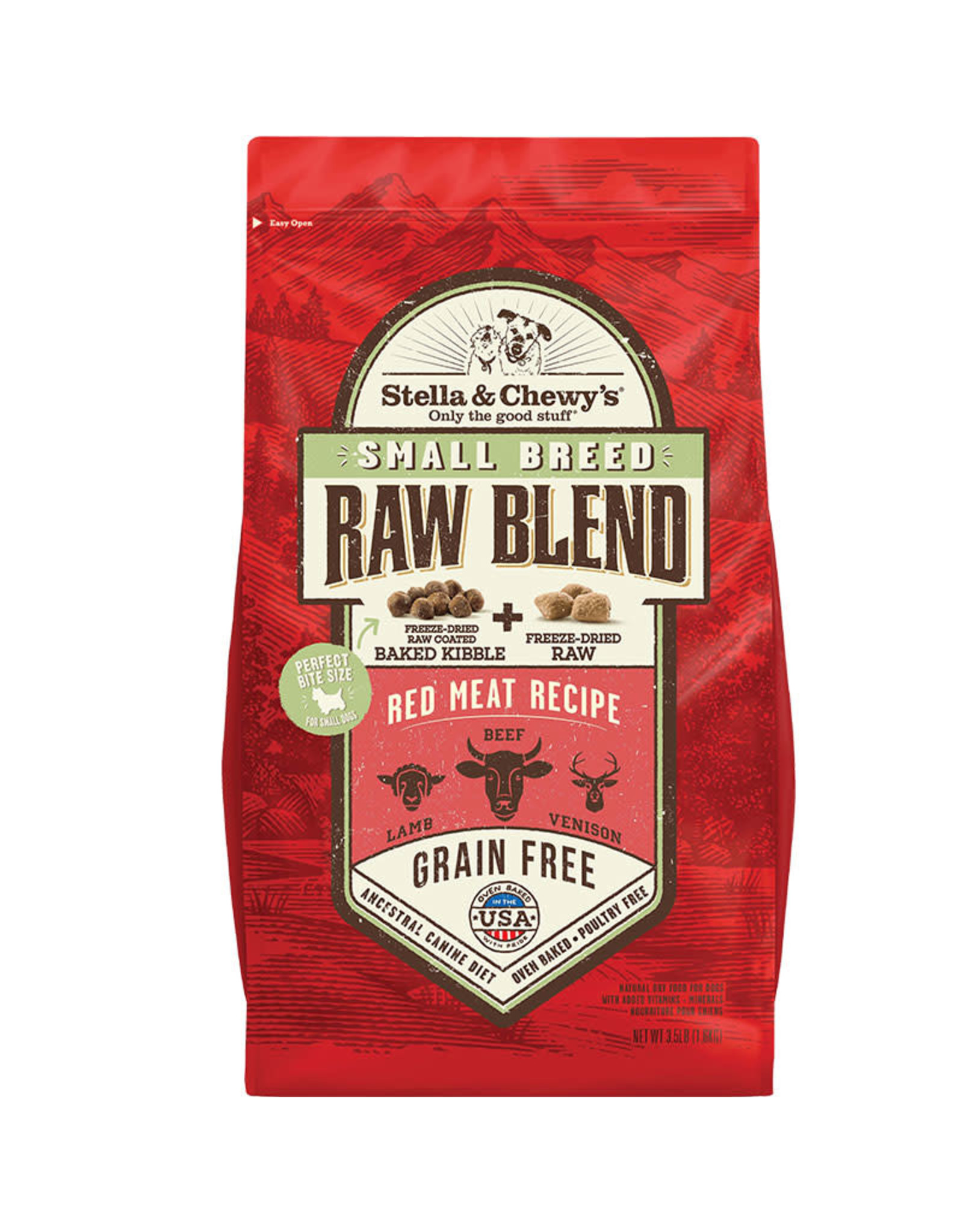 Stella & Chewy's Stella & Chewy's Small Breed Raw Blend Red Meat Recipe Dog Food 3.5lb