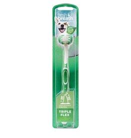 Tropiclean Tropiclean Triple Flex Tooth Brush for Dogs