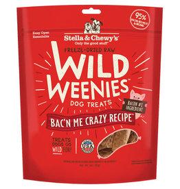 Stella & Chewy's Stella & Chewy's Wild Weenies Dog Treats Bac'n Me Crazy Recipe 3oz