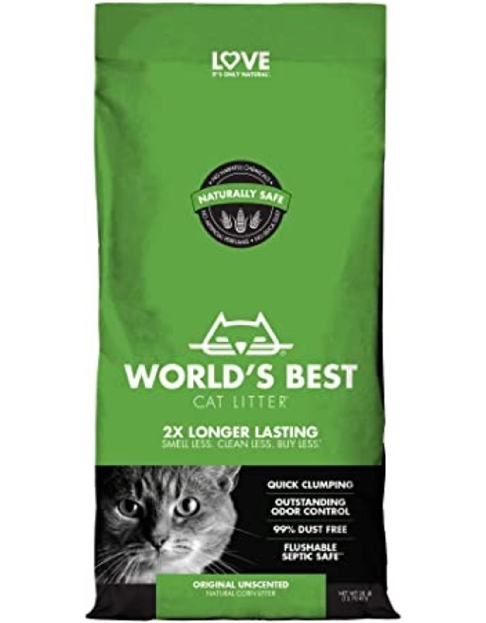 Worlds Best Worlds Best Cat Litter Original Clumping