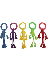 """Multipet Multipet Nuts for Knots Rope Man w/TPR Head Dog Toy 12"""""""