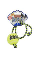 Kong Kong Squeaker Ball Rope Dog Toy Medium