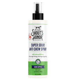 Skout's Honor Skouts Honor Super Sour Anti Chew Spray for Dogs 8oz