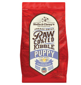 Stella & Chewy's Stella & Chewy's Freeze Dried Raw Coated Kibble Puppy Chicken Recipe Dog Food 3.5 lb.