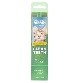 Tropiclean Tropiclean Fresh Breath No Brushing Clean Teeth Oral Care Gel for Cats 2oz