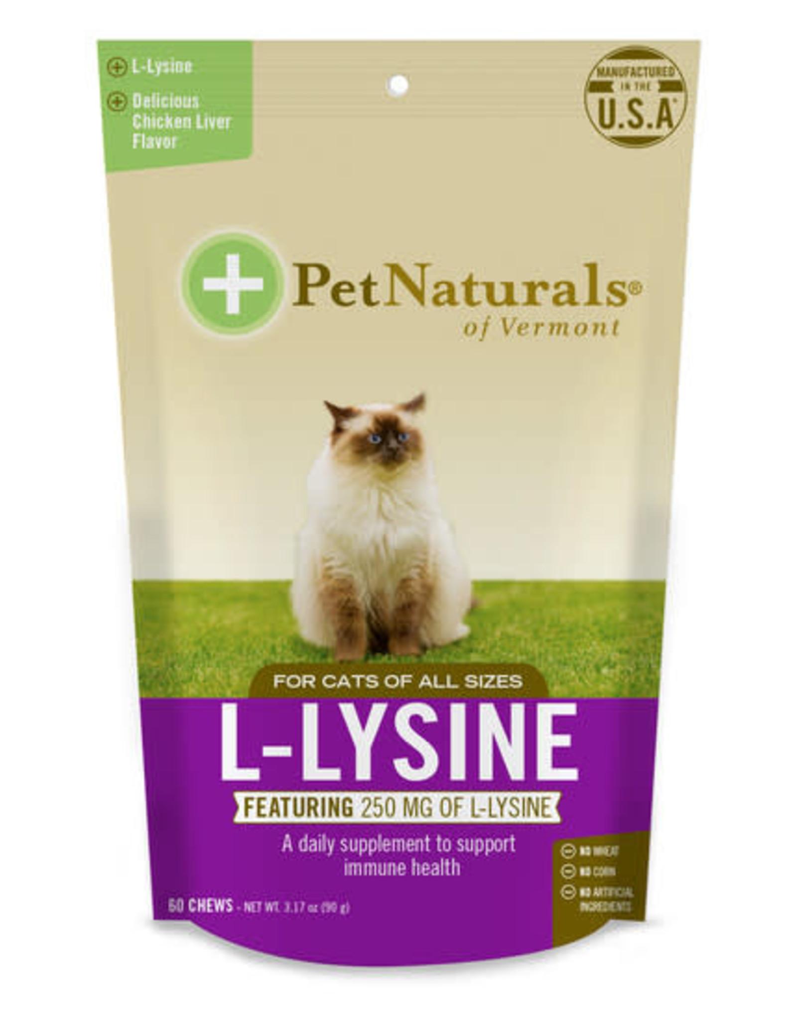 Pet Naturals of Vermont L-Lysine for Cats 60ct