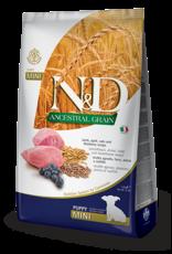 Farmina N&D Farmina N&D Ancestral Grains Lamb & Blueberry Puppy Mini Dog Food