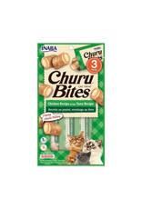 Inaba Inaba Churu Bites Chicken Recipe Wraps Tuna Recipe Cat Treats 3 pack