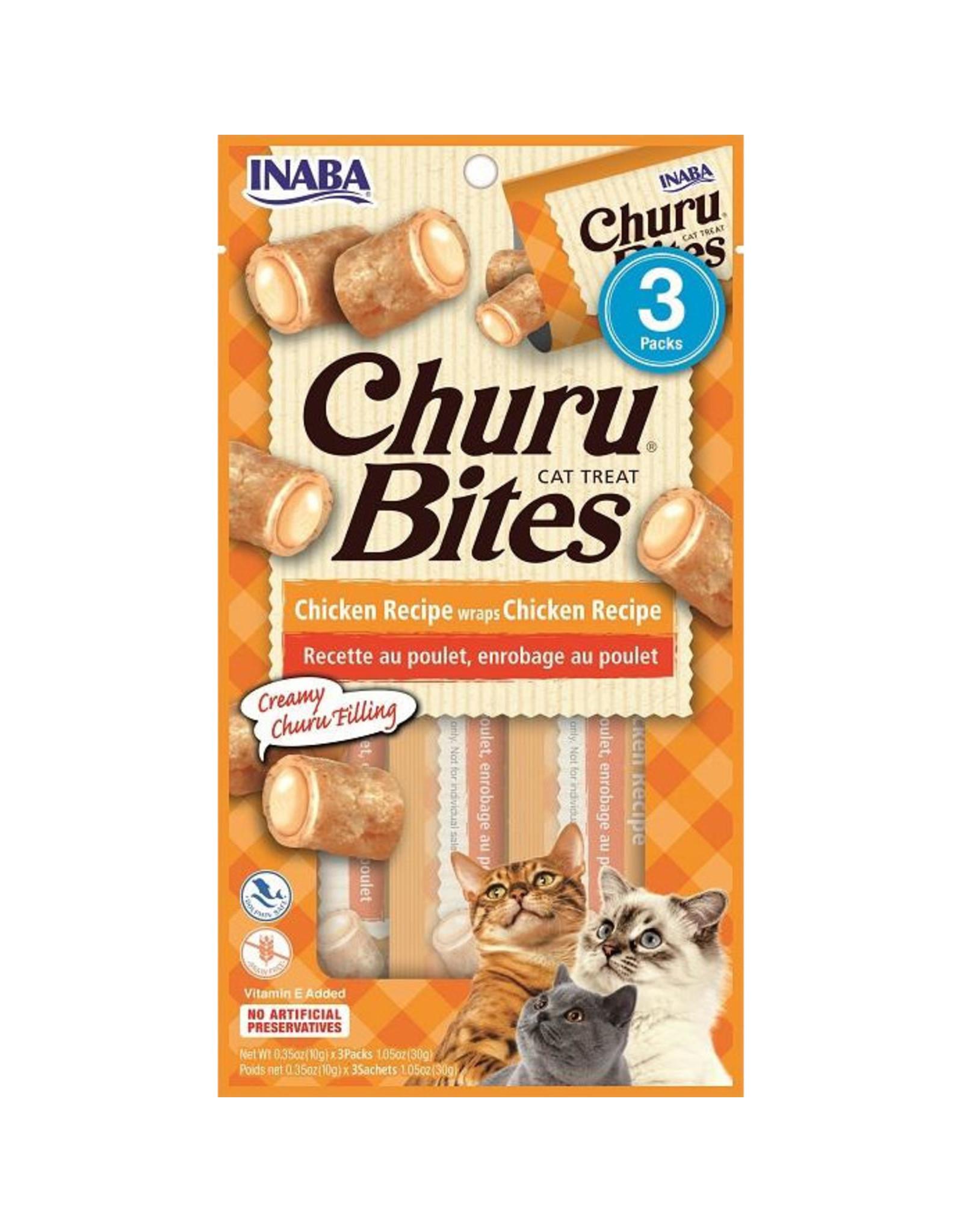 Inaba Inaba Churu Bites Chicken Recipe Wraps Chicken Recipe Cat Treats 3 pack