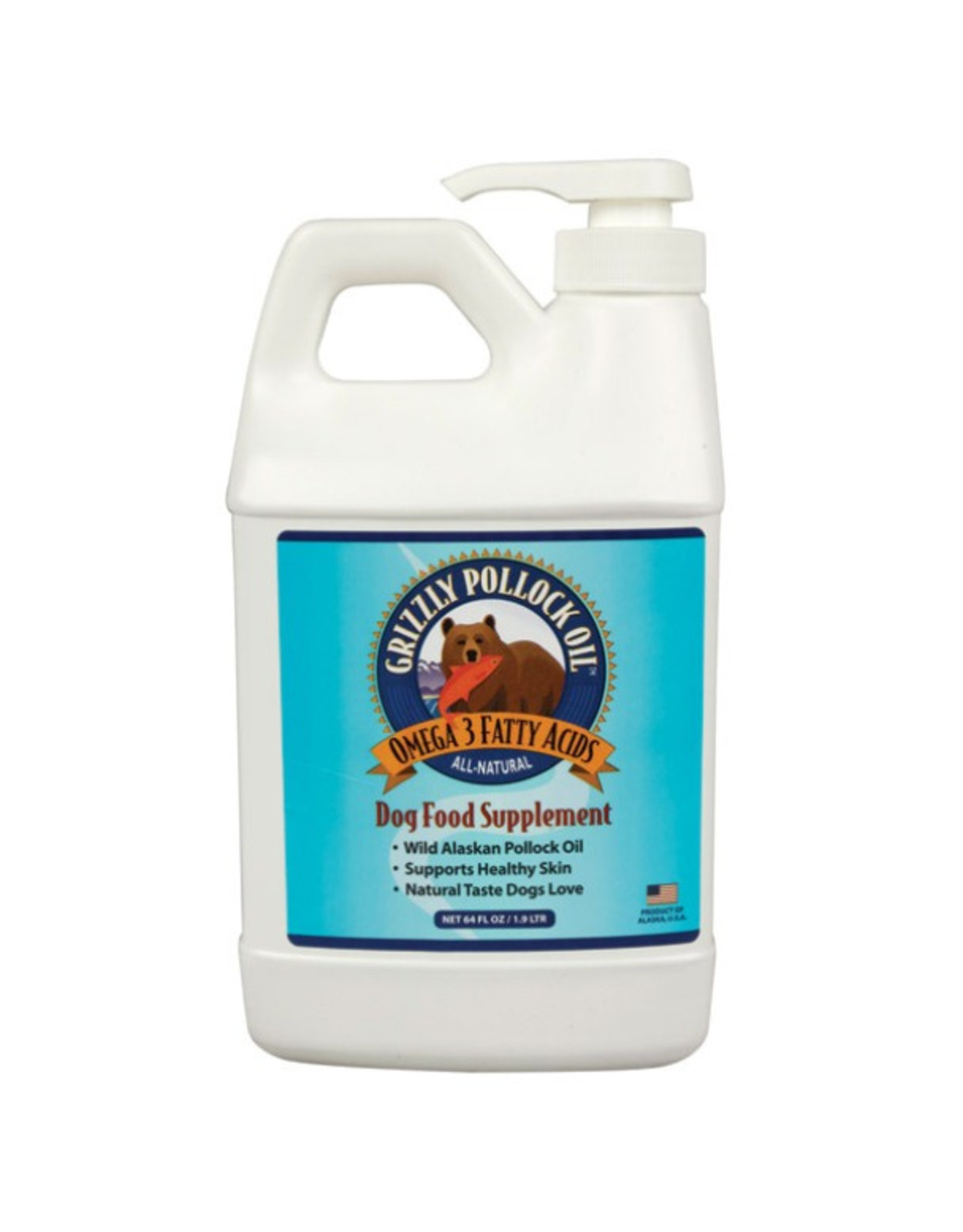 Grizzly Pet Products Grizzly Pollock Oil