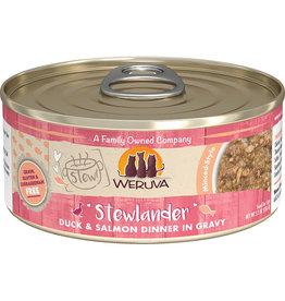 Weruva Weruva Stewlander Duck & Salmon Dinner in Gravy Cat Food 5.5oz