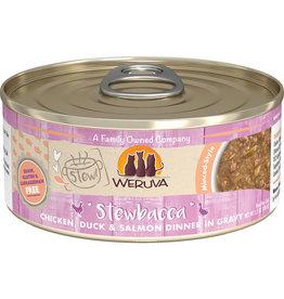 Weruva Weruva Stewbacca Chicken, Duck & Salmon Dinner in Gravy Cat Food 5.5oz