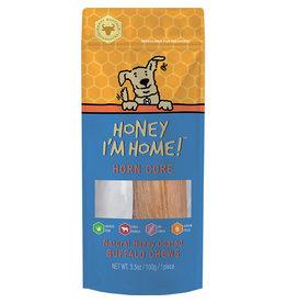 Honey I'm Home Honey I'm Home Horn Core Naturally Honey Coated Buffalo Chew