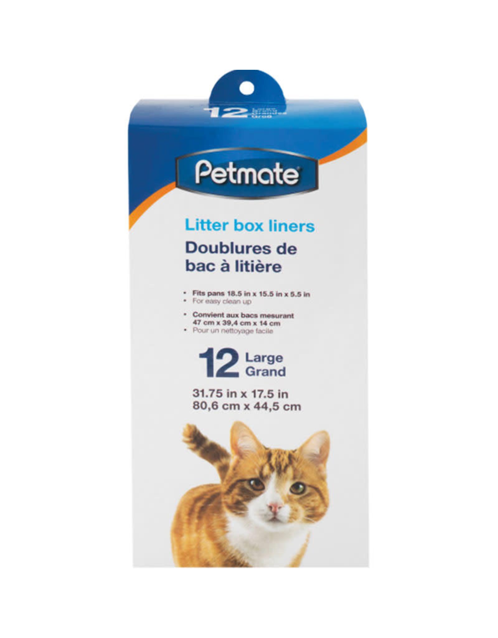 Petmate Petmate Cat Litter Pan Liners 12pk - Large