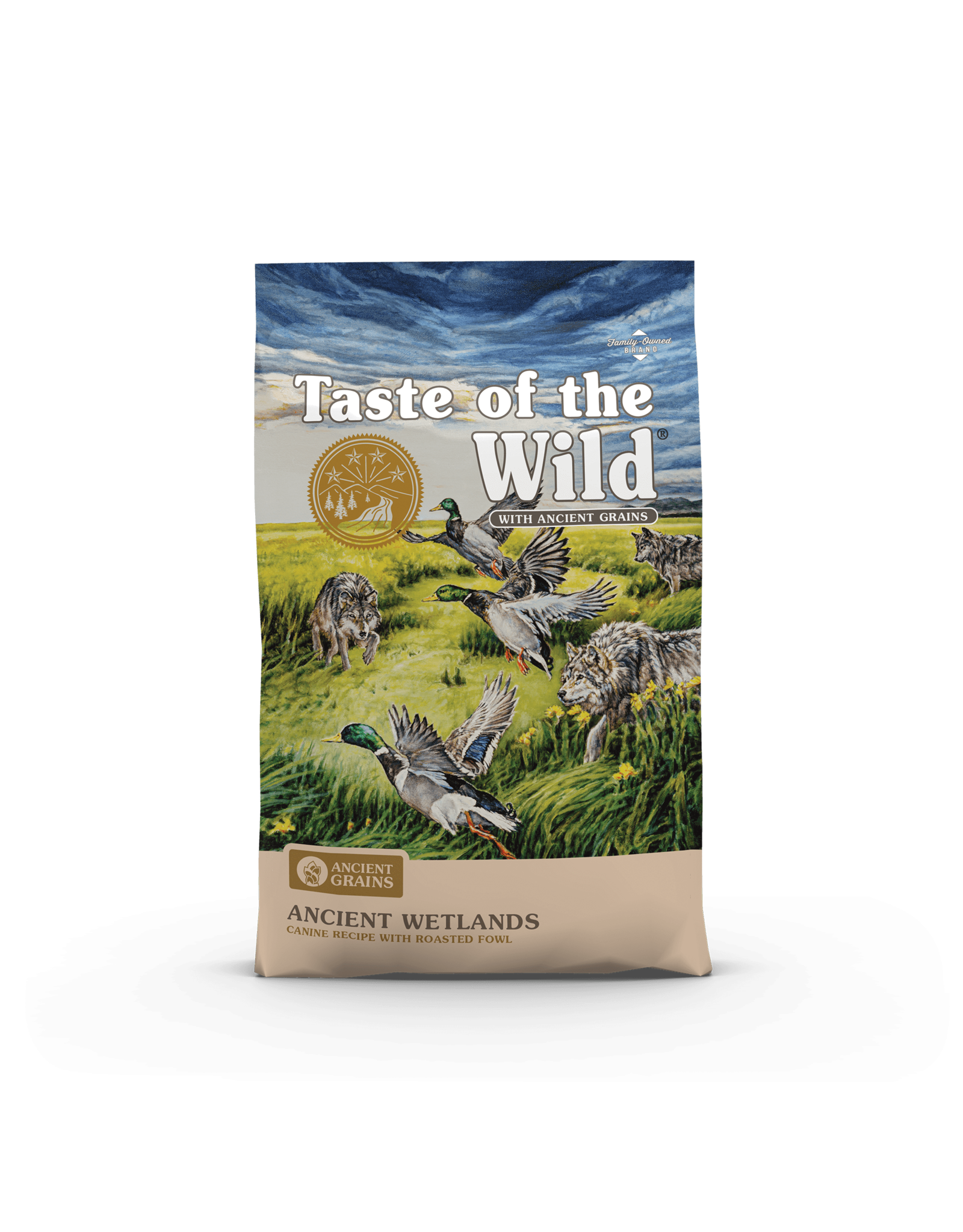 Taste of the Wild Taste of the Wild Ancient Wetlands Canine Recipe with Roasted Fowl Dog Food