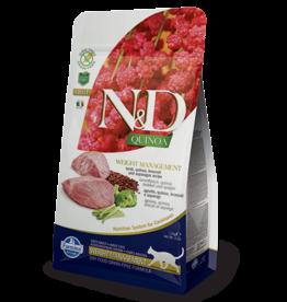 Farmina N&D Farmina N&D Quinoa Weight Management w/Lamb Adult Cat Food 3.3lb