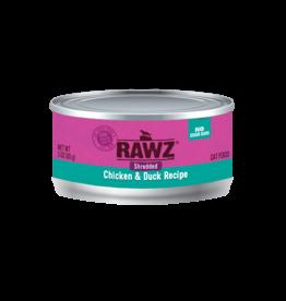 Rawz Rawz Shredded Chicken & Duck Wet Cat Food 3oz